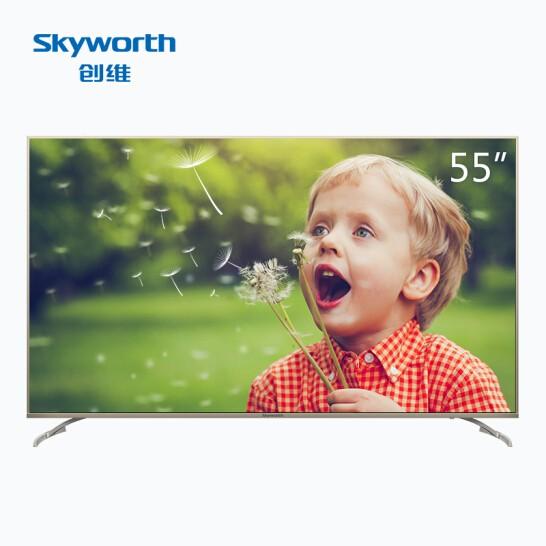 创维 55G6B 55英寸4K超高清HDR人工智能互联网平板电视