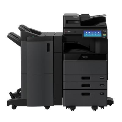 东芝(TOSHIBA)2515AC 彩色激光复印机(主机+输稿器+Betway必威器+双纸盒+工作台+MJ-1110C-B 脊缝式装订整理器 )