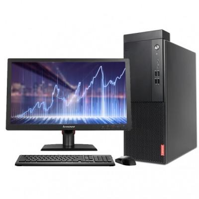 联想(Lenovo)启天M410-B011 台式计算机(G3930/4G/500G/集显/DVD刻录/19.5寸)