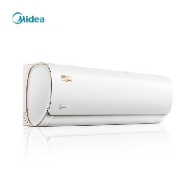 美的(Midea)KFR-35GW/WDAD3 正1.5匹 智弧 智能 静音 光线感应 定速冷暖 壁挂式卧室空调挂机