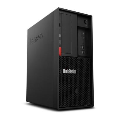 联想ThinkStation P330塔式工作站(E-2124G/16G/256G SSD+1TB/5G独显) 配23寸显示器