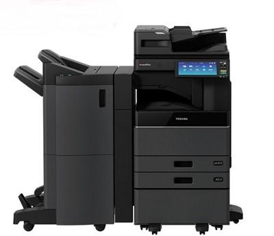 东芝(TOSHIBA)e-STUDIO2010AC彩色激光复印机(主机+双纸盒+输稿器+Betway必威器+工作台+鞍式装订器)