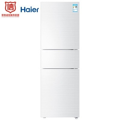 海尔(Haier) BCD-213WMPV 电冰箱(三开门/风冷无霜/213升)