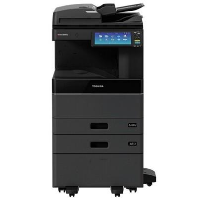 东芝(TOSHIBA)e-STUDIO2010AC彩色激光复印机(主机+双纸盒+输稿器+Betway必威器+工作台+MJ-1042C-B内置式整理器)