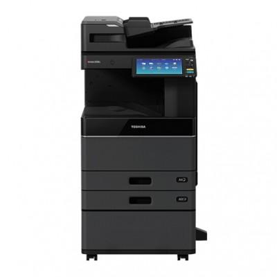 东芝(TOSHIBA)e-STUDIO3015AC 彩色激光复印机(主机+Betway必威同步扫描输稿器+双纸盒+工作台)