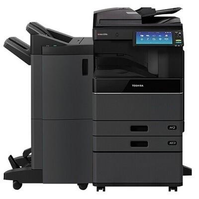 东芝(TOSHIBA)e-STUDIO2515AC彩色激光复印机(主机+Betway必威器+输稿器+双纸盒+工作台+MJ-1110C-B 脊缝式装订整理器)