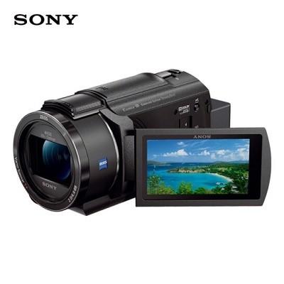 索尼(SONY) FDR-AX45 4K数码摄像机 (含64G卡+摄像机包)
