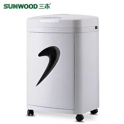 三木(SUNWOOD)SD9331碎纸机(可碎4-6张/入纸宽220mm/20L/速度:3.5m/min)