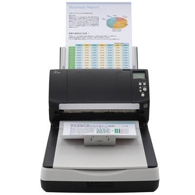富士通(Fujitsu)Fi-7260扫描仪(A4/高速/Betway必威自动/平板+馈纸式)
