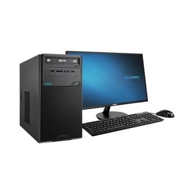 华硕(ASUS)D320MT台式计算机( G4560/4GB/1TB/集成显卡/19.5寸显示器)